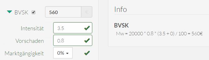 BVSK Beispiel